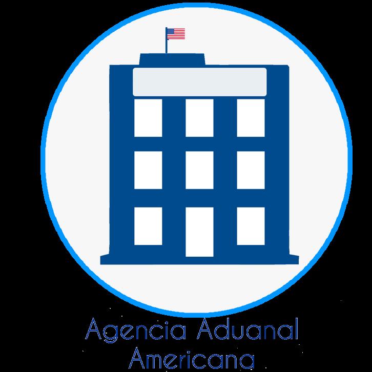 icono agencia aduanal americana